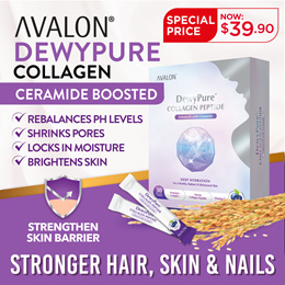 [UPGRADED FORMULATION] AVALON DewyPure | CrystalPure Collagen + Ceramide | Protect Your Skin!