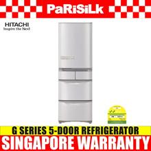 Hitachi R-S42GS G Series 5-Door Refrigerator (425L) - Singapore Warranty