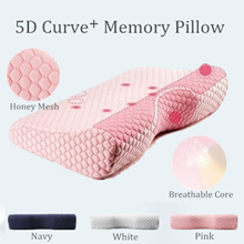 5D Curve+ Memory Pillow w/ Magnetic Stones - Good Neck Supporter | Your Deep Sleep Enhancer