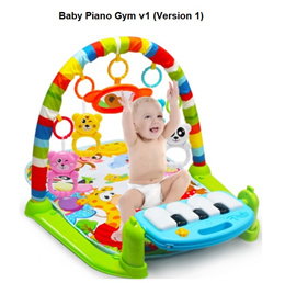 Baby Piano Gym Toy Playmat Music full month shower gift toys set