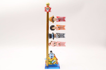 ONE PIECE WCF World Collectable Figure CARP STREAMER COMPLETE SET Carp Flags