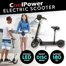 🔥COOLPOWER E-Scooter 🔥10 inch 500W motor upto 90km🔥$250 shop coupon+$100  cart coupon+Free GIft