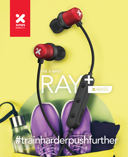 X-mini™ RAY+ wireless xoundbuds™