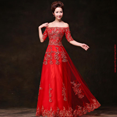 aa183b39b8 COUPON  Lace Evening Dress 2016 Long Sequins Red Custom Formal Prom Gowns  for Women Plus Size Free