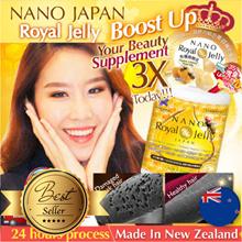 [RM40*無敵折扣! 3-DAYS! 即刻搶購RM109ea*!] ♥#1 ROYAL JELLY ♥BOOST 3X HAIR ♥35-DAYS UPSIZE ♥MADE IN NZ