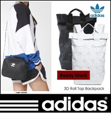 Original Adidas Issey-Miyake 3D Roll Top Backpack and Mini Airliner Bag(Comes with Original RECEIPT)