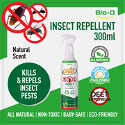 [1 Bottle - 300ml - Natural] Bio-D Orbit Insect Control Spray (Cockroach Termites Ants)
