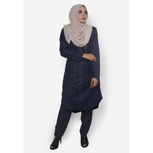 Fitri Baju Kurung Pants Suit Only (Blue)