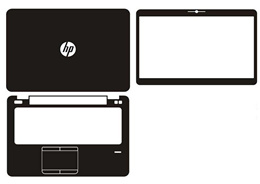 Laptop Carbon fiber Vinyl Skin Stickers Cover guard HP Elitebook 840 G3 3rd generations release