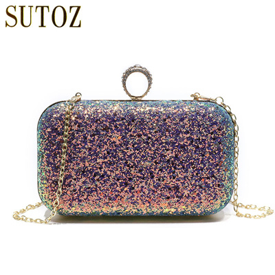 Mermaid Sequins Clutches Evening Bags