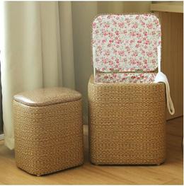 1pcs storage stool storage stool can sit adult multifunctional sofa stool