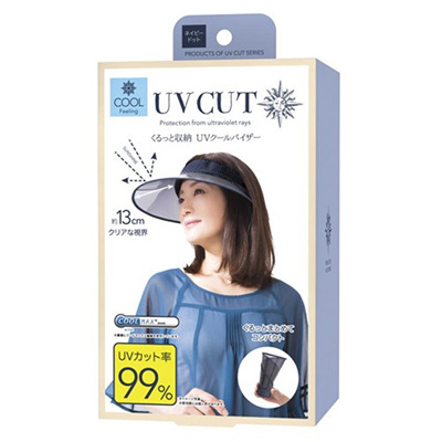7018febbb94e8 Qoo10 - Japan Imported- Kurutto Storage UV Cool Visor UV Cut Rate 99 ...