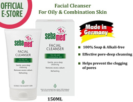 Sebamed Facial Cleanser Oily/Combination skin 150ml [Soap Free Sensitive Skin/Paraben-free]