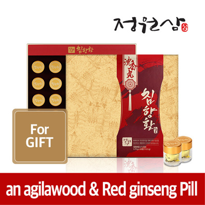 (1+1)an agilawoodRed ginseng Pill 3.75g*30ea
