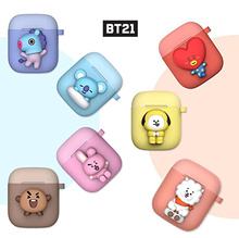 BT21 Two Tone AirPods Silicone Case / BT21 Official / BT21 Goods / BTS / AirPods Case