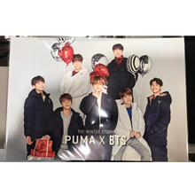 BTS (BTS) x PUMA HUG WINTER 2017 FD Urban Down Vest + BTS Story Book