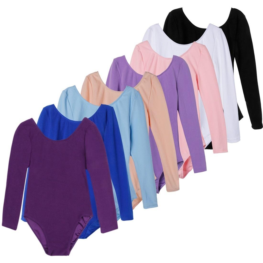 598ce58ff Qoo10 - Toddler Kids Girls Gymnastics Ballet Dress Long Sleeve ...