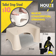 ONLINE EXCLUSIVE ♦ Toilet Step Stool ♦ Squatty Potty ♦ Relieve Constipation ♦ Straining ♦ 2 Colours