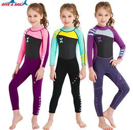 아동 2.5MM 스쿠버 슈트 잠수복 래쉬가드/어린이서핑 다이빙  서핑 슈트자외선차단 수영복