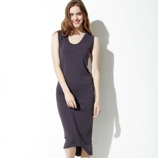 セカンドスキンベーシックメクシドレスN6WSD3102 面ワンピース/ 韓国ファッション