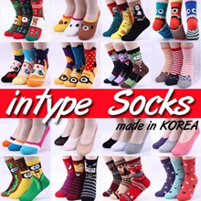 ★KOREAN INTYPE SOCKS![ Buy5+Gift1 ] SOCKS!  Made in Korea / Ladies Men Teenagers / ankle