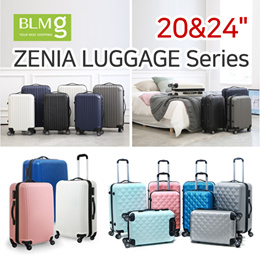 [NEW ARRIVALS!][BLMG_SG]Zenia Cube Travel Luggage/ABS/Sturdy/20/24/Hardshell/Storage/Trolley/Bag