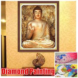 【Sakyamuni Buddha★ 佛祖 】DIY Full Drill Magic Square Diamond painting