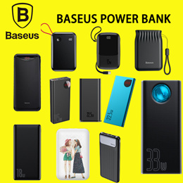 💎Baseus Official Store💎15W Power Bank 10000mAh for iPhone Samsung Huawei Xiaomi Fast Charger Power