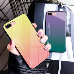 Huawei Mate20  X  PRO  LITE MATE10   Gradient glass case shell