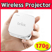 [ORION] Wif-Fi Wireless Mini Projector BRICK Smart Beam Home Theater 50 Ansi 16:9