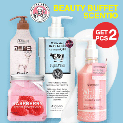 BUNDLING PROMO BEAUTY BUFFET SCENTIO Deals for only Rp279.900 instead of Rp437.344