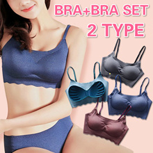 Buy 3 Bra Free Shipping /Japanese comfort bra/ no rims/sleep underwear/female yoga vest/push up