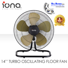 IONA BALL BEARING TURBO OSCILLATING FLOOR FAN