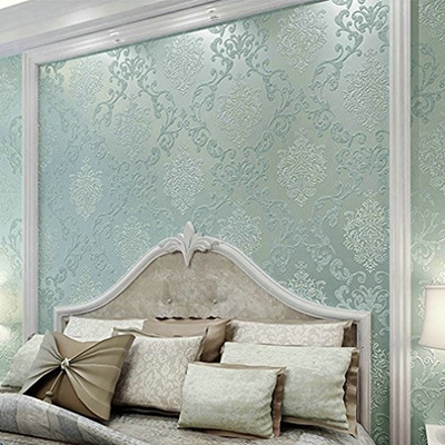 Qoo10 Aruhe 3d Victorian Damask Embossed Textured Wallpapers For