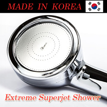 Extreme Superjet Powerful Shower Head Pure Rain (PR-SJW) Showerhead - MADE IN KOREA (Increase pressure up to 5x times)