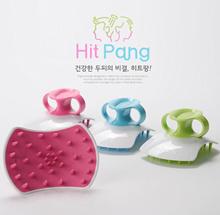HIT PANG Shampoo Urethane Brush Hair Skin 3D Stereoscopic Massage Head Healthy Scalp Care