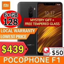 Xiaomi POCOPHONE F1 6+128GB/ Local warranty / Lowest Price In Qoo10 /  / 4000mAh batter