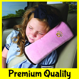 ★CHEAPEST★Child Car Safety Pillow Seat Belt Cover Protector/Adjuster★iPad Phone Holder
