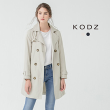 KODZ - Belted Trench Coat-171197-Winter