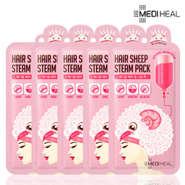 [MEDIHEAL] ★Korean Beauty★hair treatment / 5 pcs / mediheal mask / steam cap / shampoo / pack / oil