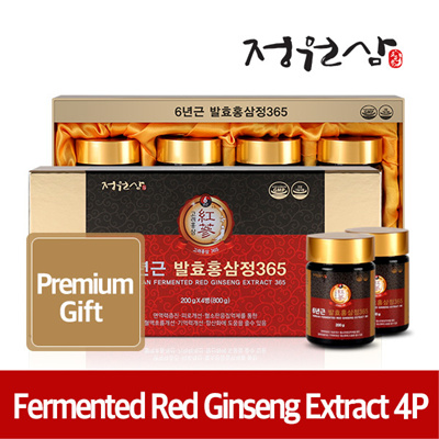 (4P)Red Ginseng Extract 200g*4bottle