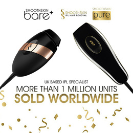 (SMOOTHSKIN) Bare and Pure IPL Hair Removal Devices • World #1 Brand • COCOMO