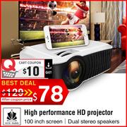 Best Seller🌟T22L  🌟 T23K  PROJECTOR  🌟 Films.TV.Xiaomi The Cheapest 1080P Portable Devie