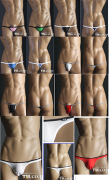 Men underwear thong T type brief TM sexy underwear various design