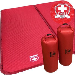 [SWISS CLUB] Selfinflatable Mat / air-mat automatic charge / Camping Accessories / sleeping bag / cushion / bed / tent