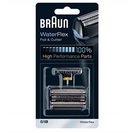 Braun 51B WaterFlex Key Part Replacement Foil and Cutter Cassette