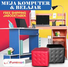 [Special Promotion] Meja Belajar - Meja Komputer - Puff Emily - Free Shipping Jabodetabek