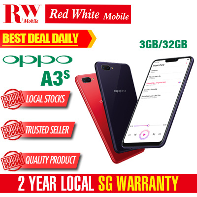 OPPOOppo A3S 32GB (Purple/Red) Local Warranty