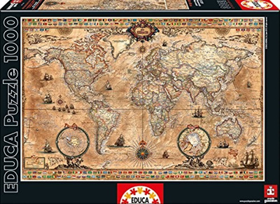 Qoo World Map Puzzle Search Results QRanking Items Now - Ravensburger satellite world map puzzle