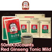 [正官庄 CHEONG KWAN JANG]◆Lowest Price◆Cheong Kwan Jang Korean 6 Years Red Ginseng Tonic Mild 50mL x 30